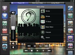 Savant ROSIE 4i Ipad App