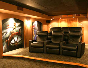 Pirate-Themed Theater