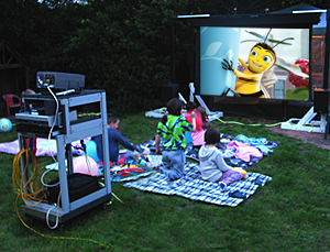 Sweeting Backyard Theater