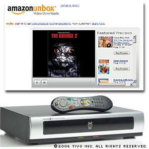 TiVo and Amazon offering movie downloads