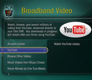 TiVo YouTube