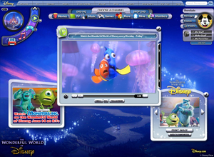 Wonderful World of Disney Online